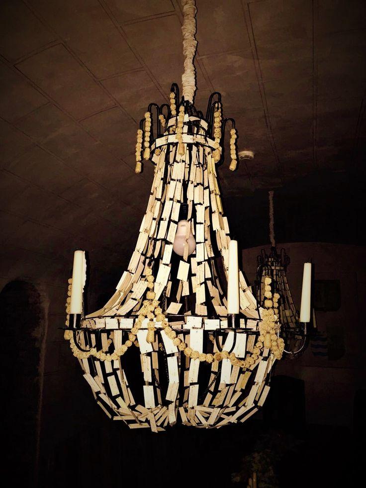 Durante las cenas privadas que se organizan, encendemos las velas de nuestras 2 maravillosas lámparas. Son de papel de pergamino y bolitas de lana imitando a las lámparas de araña de cristal. ********************** During the private dinners that we organized , we light the candles of our 2 amazing lamps. They are made of parchment paper and woolen balls imitating crystal chandeliers. #lascasasdelajuderia #Cordoba #hotel #Andalucia #HotelDesign #travel #Hotelliving #Traveler…