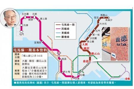 陳帆:屯馬線全線料明年底前通車 in 2020   Map, Map screenshot, Screenshots