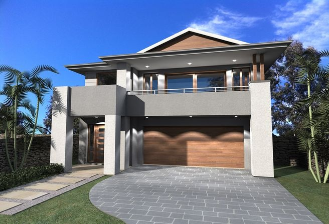 Huxley Home Designs: The Merlot - Coastal Facade. Visit www.localbuilders.com.au/builders_nsw.htm to find your ideal home design in New South Wales