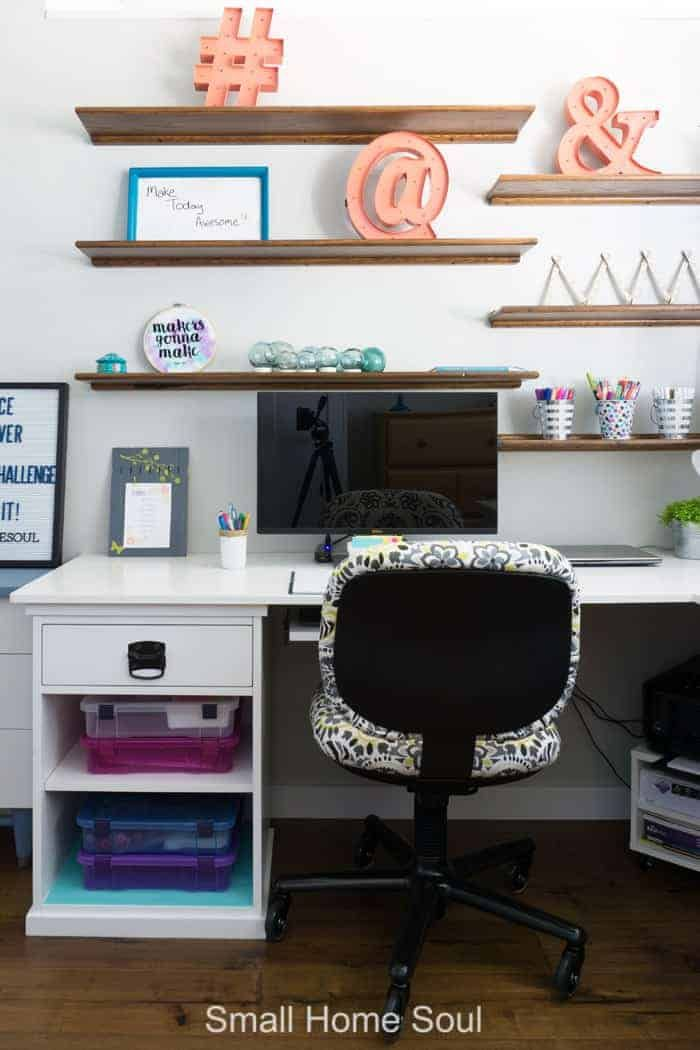Office Makeover Reveal One Room Challenge Week 6 Office