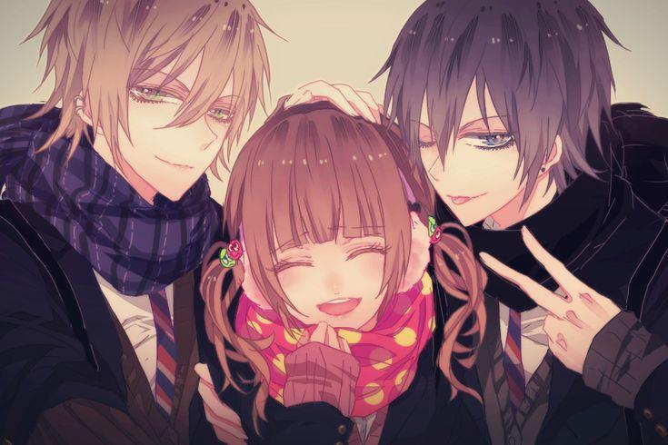 Anime Pojkar och Anime flickor.