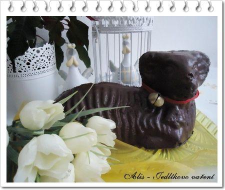 Jedlíkovo vaření: Velikonoční recepty, velikonoční beránek z piškotového těsta   #recipe #czech #easter #velikonoce #beranek #velikonoce #recept