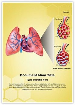 pulmonary edema diagram 8 best cancer ms word templates images on pinterest | word ...