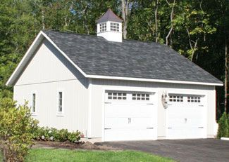 Best 25 two car garage ideas on pinterest garage plans for Vintage garage plans