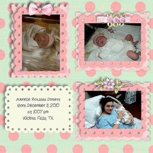newborn hospital Scrapbook Ideas Pinterest The o