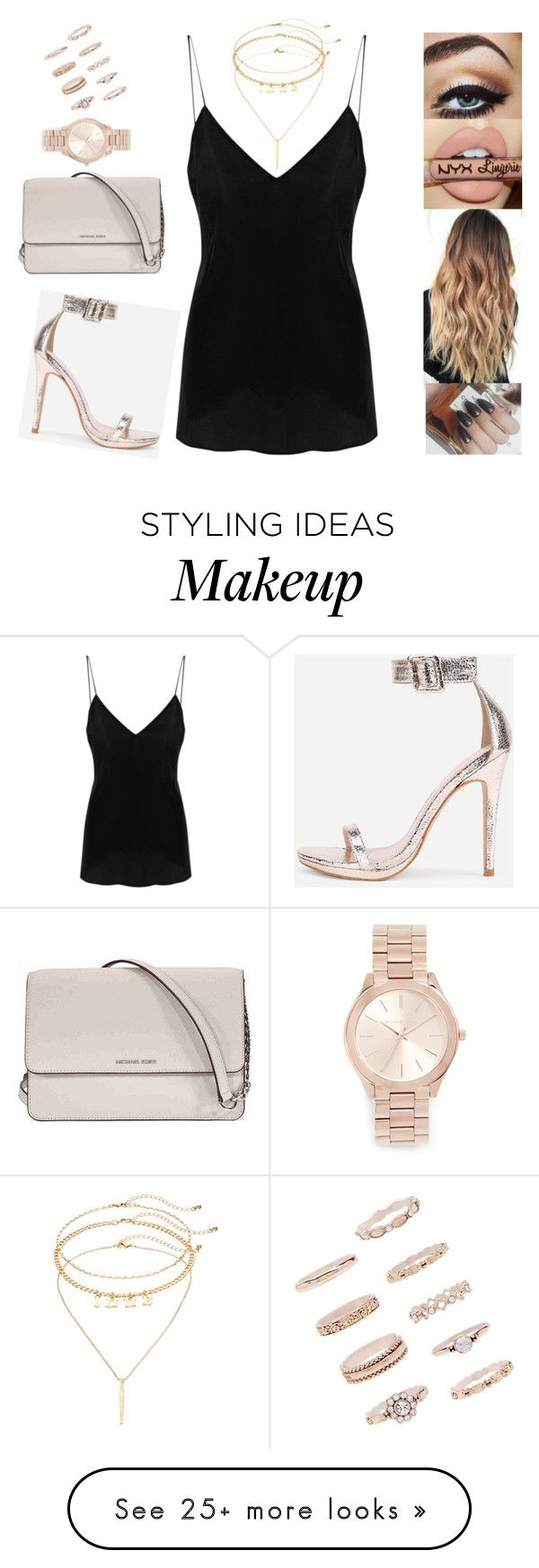 """""""Untitled #6027"""" by sigalv on Polyvore featuring IRO, Michael Kors, Forever 21 and Mudd"""
