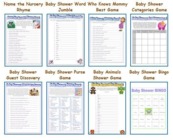 Other Game Ideas, Printable. Free Baby Shower ...