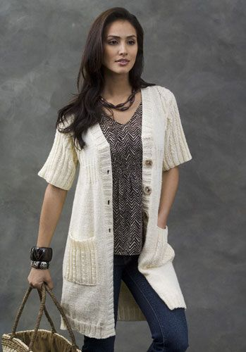 85 best Knitting-adult-short sleeved cardi images on Pinterest ...