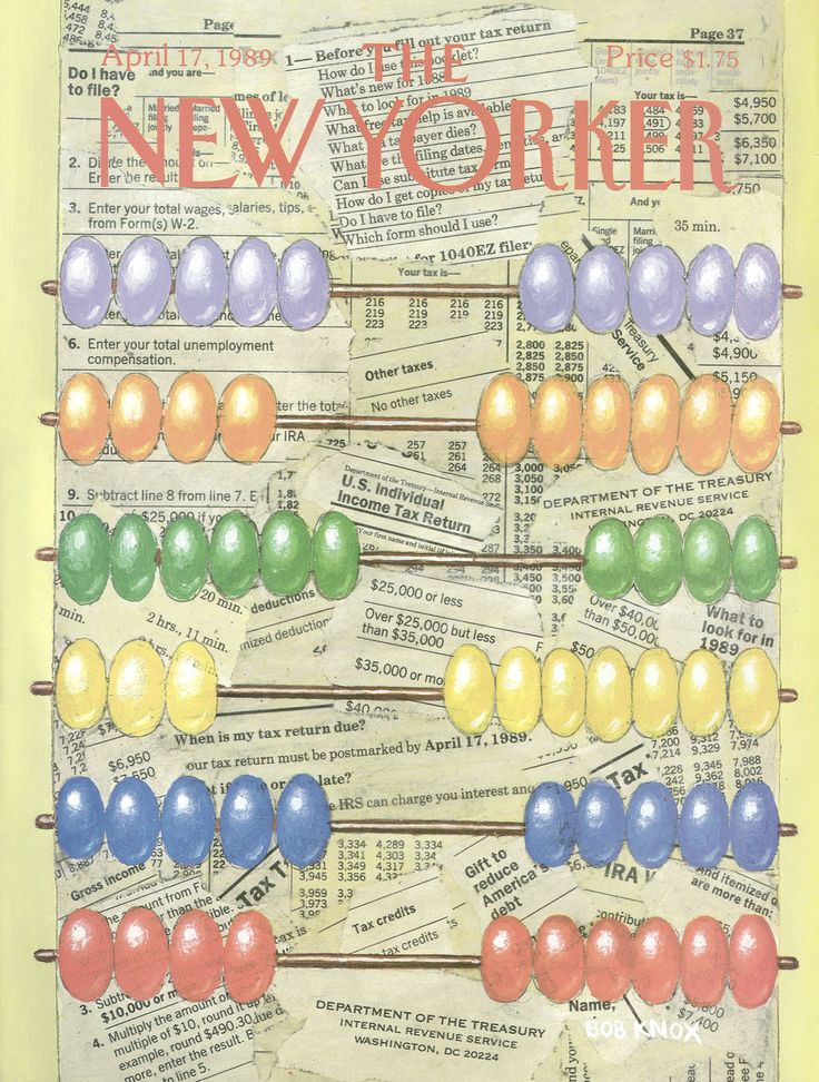 The New Yorker - Monday, April 17, 1989 - Issue # 3348 - Vol. 65 - N° 9 - Cover by : Bob Knox