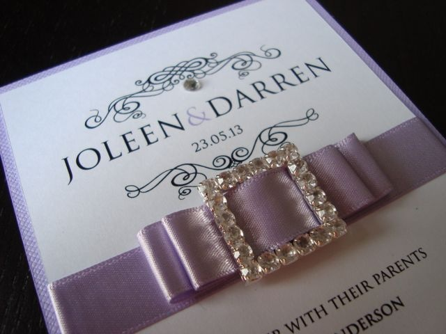 Indulgence in lilac: Invitations Info, Stationery Ideas