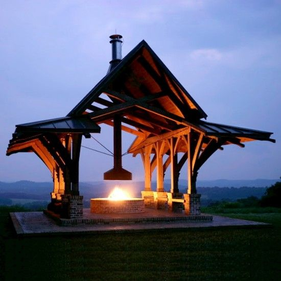 Spaces +gazebo +firepit +screened Design, Pictures, Remodel, Decor and Ideas - page 2