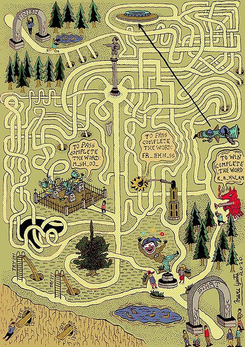 Labyrinth Maze: #Maze.
