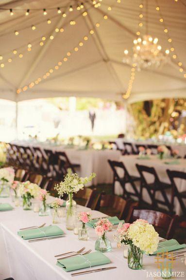 I love TENT weddings!!!!!!!!