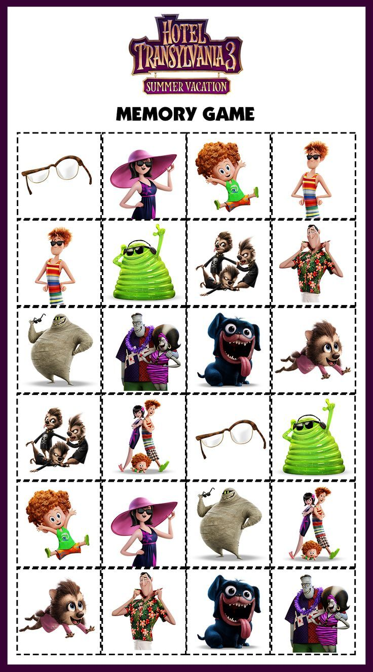Diy Kids Travel Activity Bags With Images Hotel Transylvania