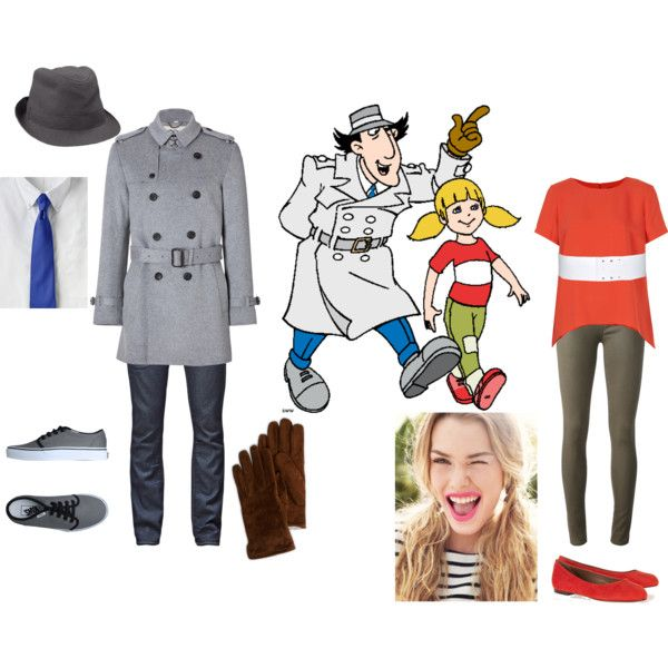 Community Inspector Gadget Costume inspector gadget and penny - polyvore
