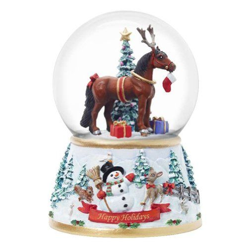 BESTSELLER! Breyer Holiday Surprise Musical Snow... $16.85