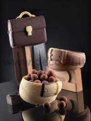 moule à chocolat Ceinture Homme #mode #Chocolat #decosil