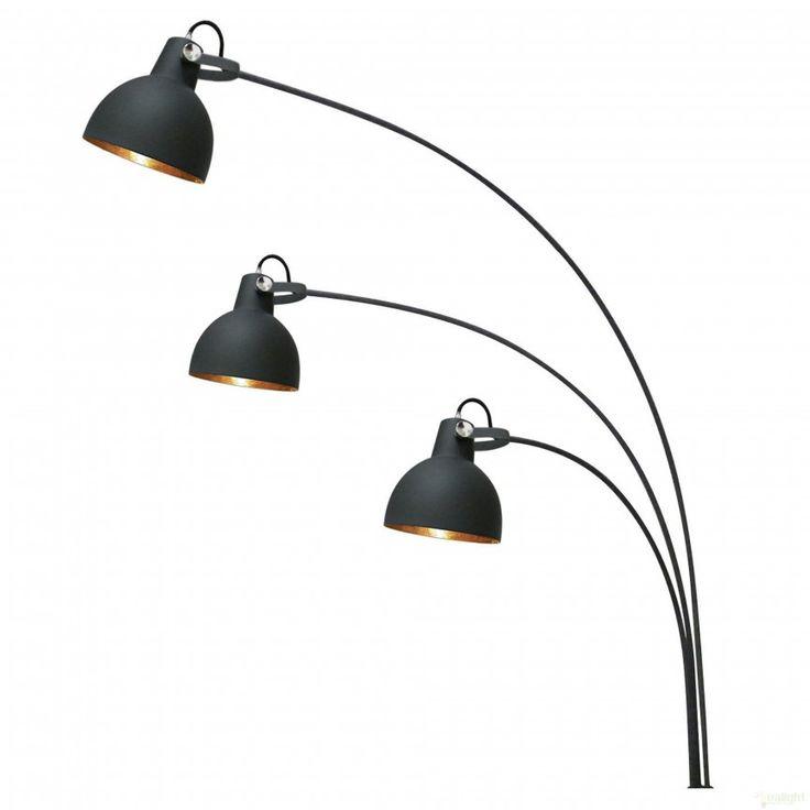 Lampadar, lampa de podea moderna cu 3 brate, Antenne TS-140123F, Lampadare, Corpuri de iluminat, lustre, aplice a