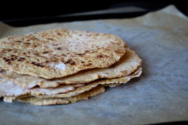 Recipe gluten free tortillas   Opskrift glutenfri grove tortillas