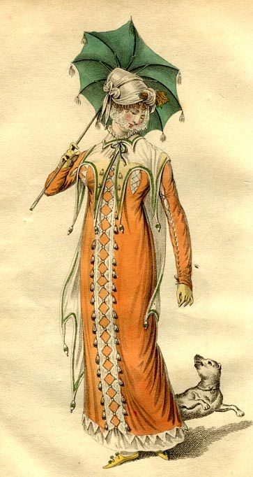 central trim detail  La Belle Assemble 1810Women Fashion, Woman Fashion, Fashion Plates, Fashion Center, 18001820 Fashion, La Belle, 18001820 Women, 1800 1820 Fashion, Fashion Women