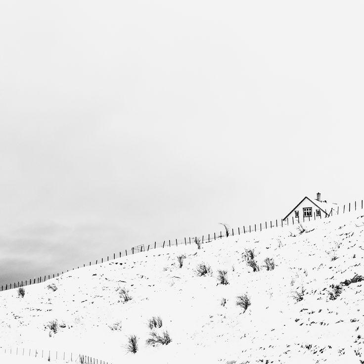 Prosjekt 365 / 4 #363 #onephotoaday #bw #photography #places #kvinnherad #seimsfoss #winter #snow #whiteonwhite photo @jorunlarsen