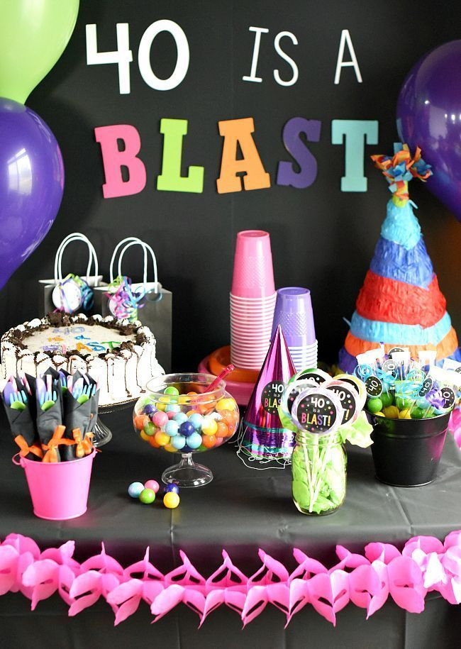 17 Cool 40th Birthday Party Ideas For Men Wohnidee By Woonio