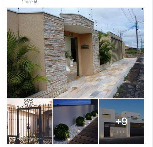 M s de 25 ideas incre bles sobre fachadas de bardas en for Fachadas de bardas para casas pequenas