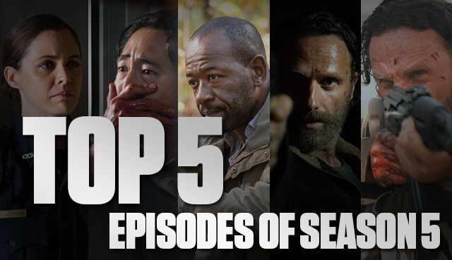 Top 5 Episodes from Season 5 | The Walking Dead