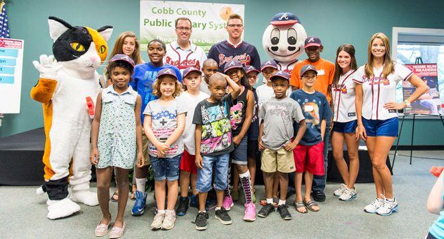 Free Braves tickets and Subway vouchers - Atlanta Braves Summer Reading Program | braves.com: Community