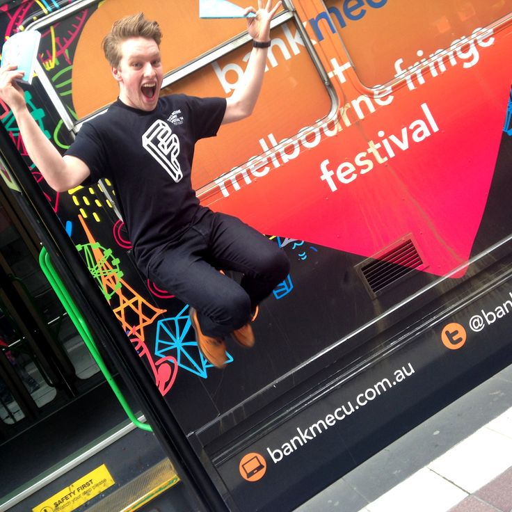 Take a photo with the tram, hashtag it #fringetram or #gramthetram and win show tickets!
