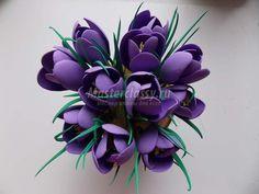 цветы из фоамирана мастер класс с пошаговым