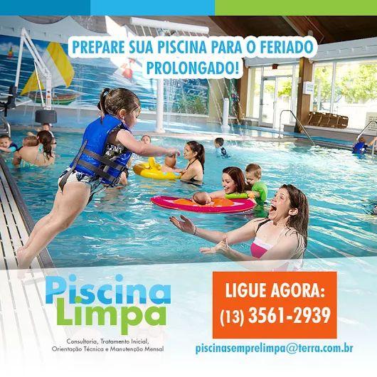 PREPARE SUA PISCINA PARA O FERIADO PROLONGADO!  LIGUE AGORA: (13) 3561-2939 E-mail: piscinasemprelimpa@terra.com.br  #piscinalimpa #piscina #academia #hotel #residencia #condominios #tratamentodeagua #agua #aguadepiscina #clubes #santoscity #litoral #sp