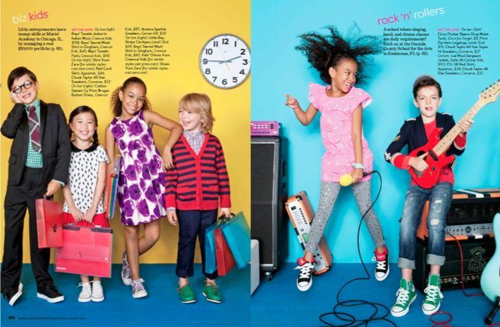 Cheyenne Ellis for Parent & Child Magazine