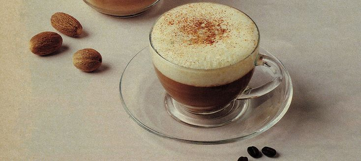 Our recipe features cappuccino coffee, a warm, relaxing and convivial drink that goes well at the end of a dinner with friends, and makes an excellent breakfast drink too.