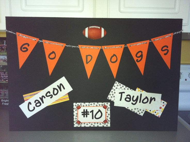 17 Best Images About Hallway Decorations On Pinterest Football Cheer And T