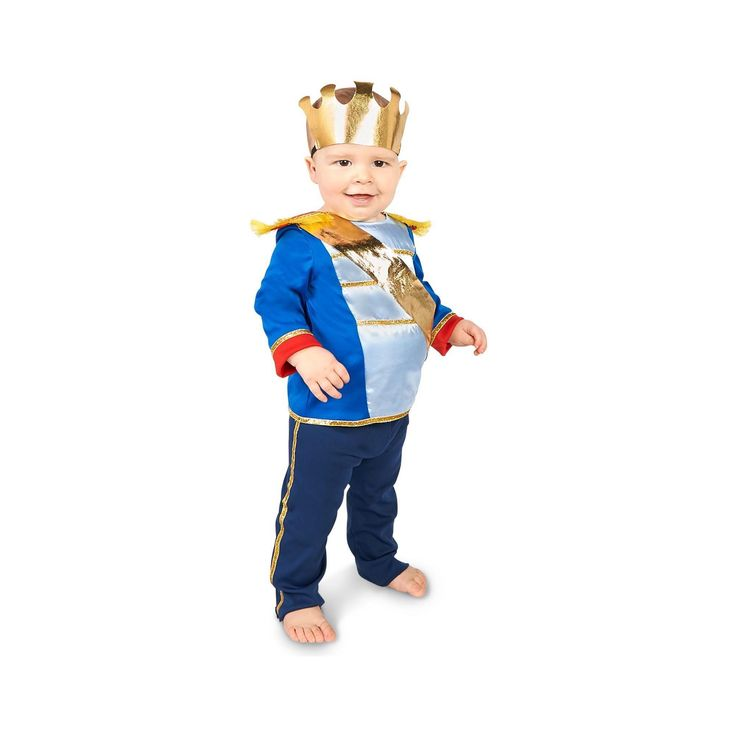 Halloween Dream Weavers Infant Boys' Most Charming Prince Costume 18-24 Months, Size: 18-24 M, Multicolored