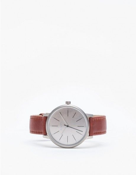 An updated heirloom-style watch from Nixon. Features classic styling with 3 hand Japanese quartz movement, new 38mm custom ceramic case and leather band with stainless steel buckle.