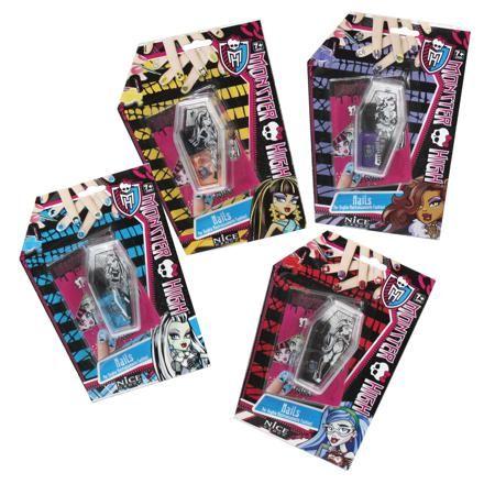 Monster High  — 29р. ------------------------------------------- Набор для дизайна ногтей 1TOY Monster High содержит все необходимые вещи для маленькой модницы.  Особенности:  Разные наклейки для ногтей помогут придумывать различные образы и сочетания! Набор для дизайна ногтей Monster High станет отличным подарком для вашего ребенка.  В наборе:  лак для ногтей; наклейки; кисточка.