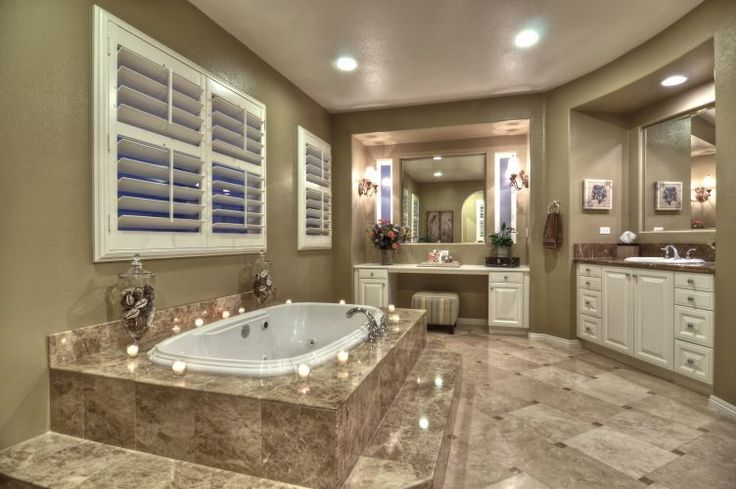 21 photos of master bathroom designs page 2 of 2 zee for Master bathroom jacuzzi designs