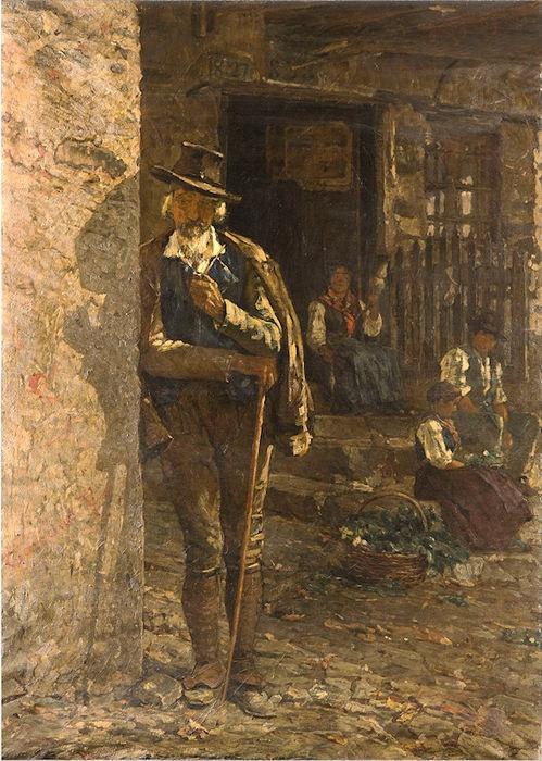 Giovanni Segantini - Il lavoratore della terra