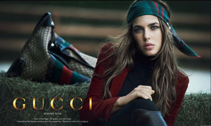 Charlotte Casiraghi's First Ad for Gucci's 'Forever Now' Campaign