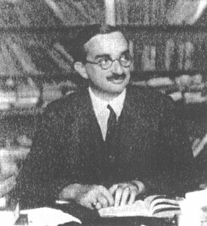 Géza Róheim (Hungarian: Róheim Géza; September 12, 1891 – June 7, 1953) was a Hungarian psychoanalyst and anthropologist. Considered by some as the most important anthropologist-psychoanalyst, he is often credited with founding the field of psychoanalytic anthropology; was the first psychoanalytically trained anthropologist to do field research; and later developed a general cultural theory.