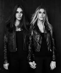 Hailey and Alaia Baldwin