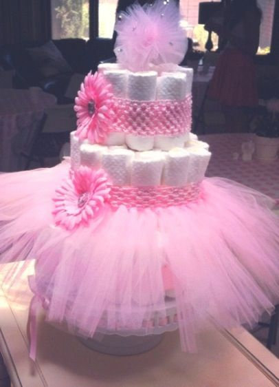 Exceptional Baby Shower Cakes: Tutu Baby Shower Cake Ideas