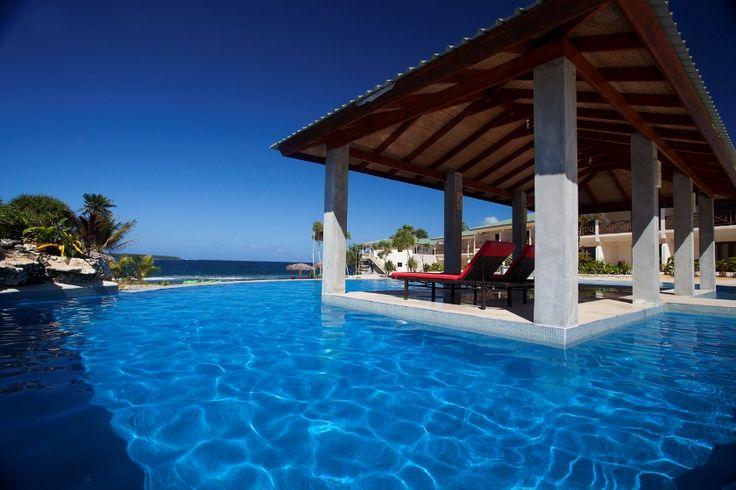 Resort Pool Vanuatu
