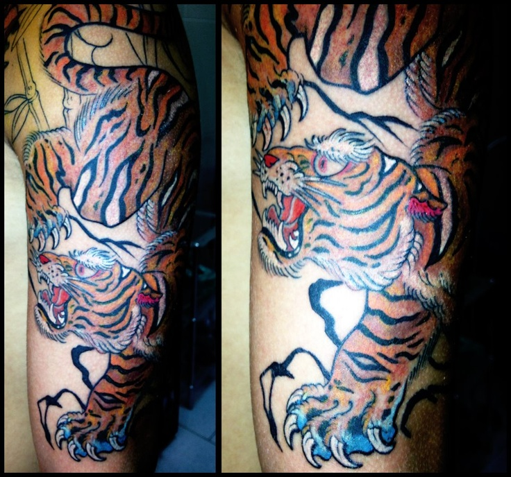 79 best Tiger tattoos images on Pinterest | Japan tattoo ...
