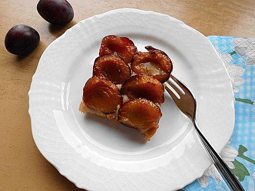 Pflaumenkuchen mit Quark - Öl - Teig