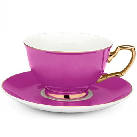 Cristina Re - Signature Pink Berry Tea Cup-- saw the set at our local Salvation Army, but no way would hubs let me drop that $$$ on a tea set. :(