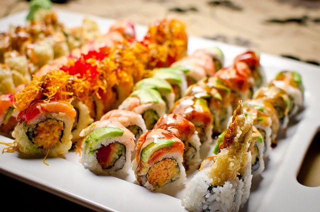 Sushi is like design meets chef meets fireworks... in your mouth.