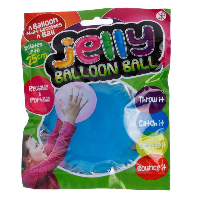 #secretsanta #secretsantagiftideas #kriskringle The Jelly Balloon Ball is a balloon that becomes a ball!Inflate your Jelly Balloon Ball using the nozzle supplied - just insert the nozzle into the valve of the ball and start inflating! Blow it up just like you would a balloon. Then it's time to throw it, catch it, squeeze it or bounce it - just like you would any other ball.